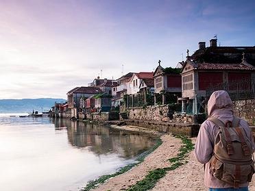 Planes en las Rías Baixas en Galicia