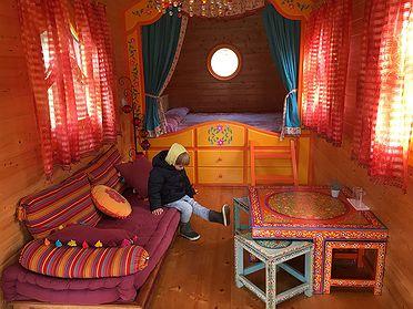 Dormir en cíngaros: Alojamiento 'Cabañas en los árboles' (Zeanuri, Vizcaya)