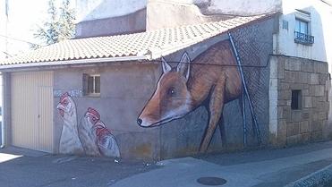 El 'street art' conquista los pueblos de Castilla y León
