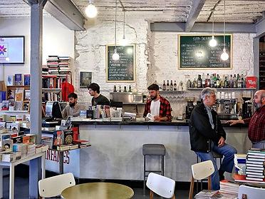 Cafés-librerías de Madrid