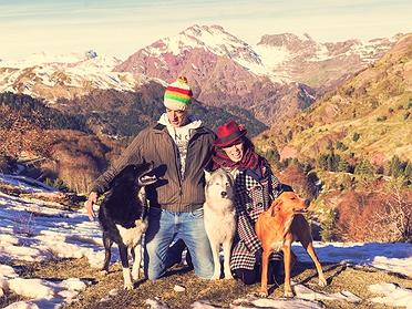 Cómo aventurarte en la montaña con tu mascota