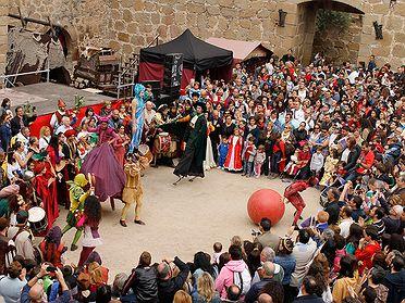 Fiestas medievales en pueblos de Toledo