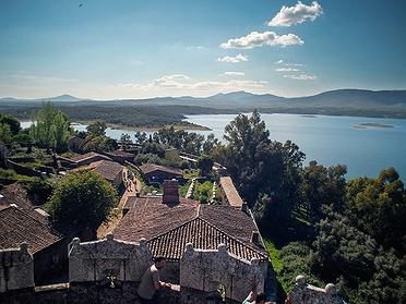 Granadilla, pueblo abandonado en Cáceres