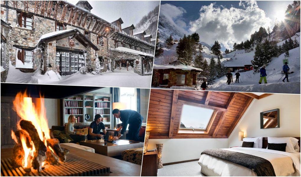 Hoteles en la nieve   Guía Repsol