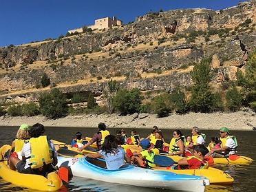 Hoces del Duratón en Kayak