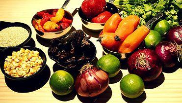 Ingredientes básicos de cocina peruana