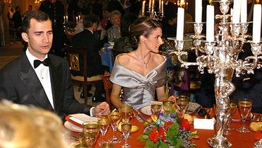 Menú con historia: la cena de la boda de Letizia y Felipe (2004)