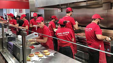 Five Guys, la hamburguesa favorita de Obama
