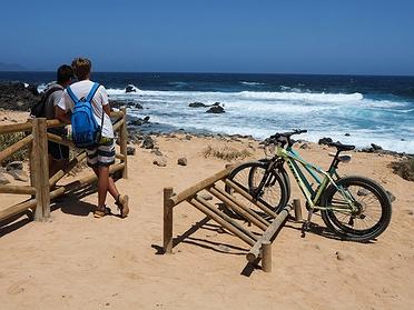 Ruta en bicicleta por La Graciosa (Lanzarote)