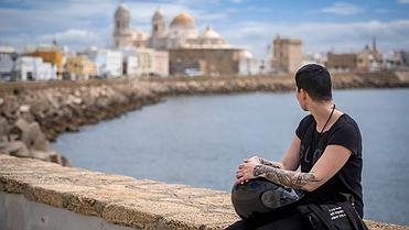 Las mejores vistas de Cádiz desde la moto