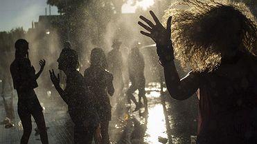 La Pandorga: Un baño de limonada en Ciudad Real