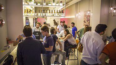 Cervecerías en Madrid: calle Cardenal Cisneros