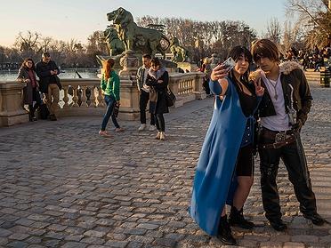 Los amantes del Parque del Retiro (Madrid)