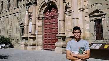 Viaje por Cervera con Marc Márquez