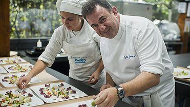 Martín Berasategui en Lasarte: en las cocinas del mejor restaurante del mundo