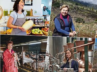 Mujeres productoras artesanas