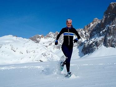 Campeonato del mundo de raquetas de nieve en los Picos de Europa