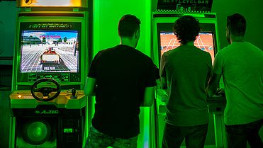 Next Level Arcade Bar (Madrid)
