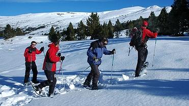 Actividades alternativas al esquí en las estaciones de nieve