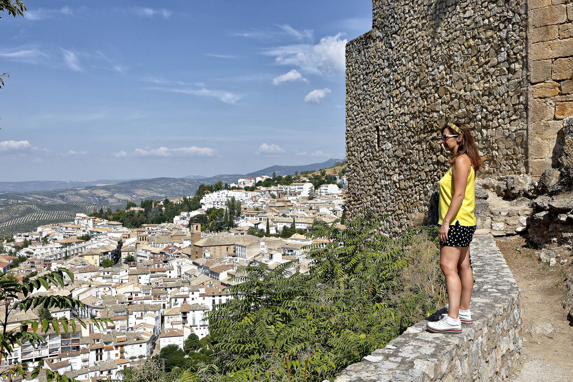 Las vistas desde el castillo ya son una buena recompensa.