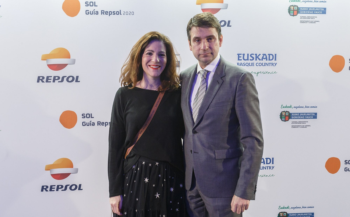 Photocall Gala Soles Guía Repsol 2020. Pedro Monje