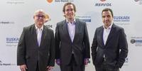 Photocall Gala Soles Guía Repsol 2020. Ricardo Sanz y Óscar Velasco