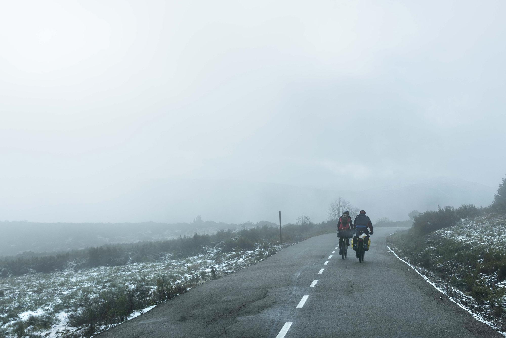 """Los caminos de los arrieros y sus """"machos"""" (mulas) hoy recorridos por peregrinos."""