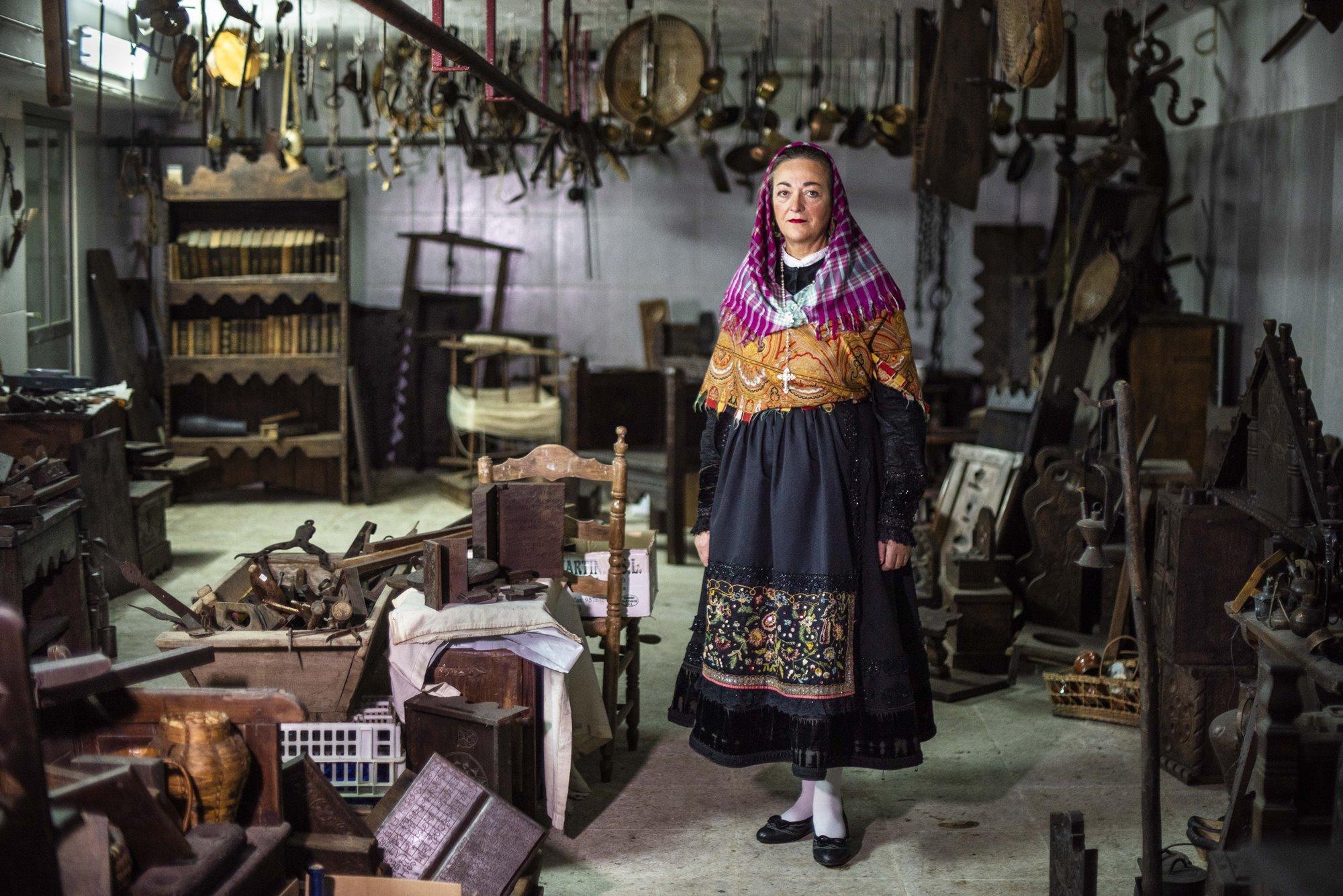 "Carmen Martínez, la hija del ""último maragato""."