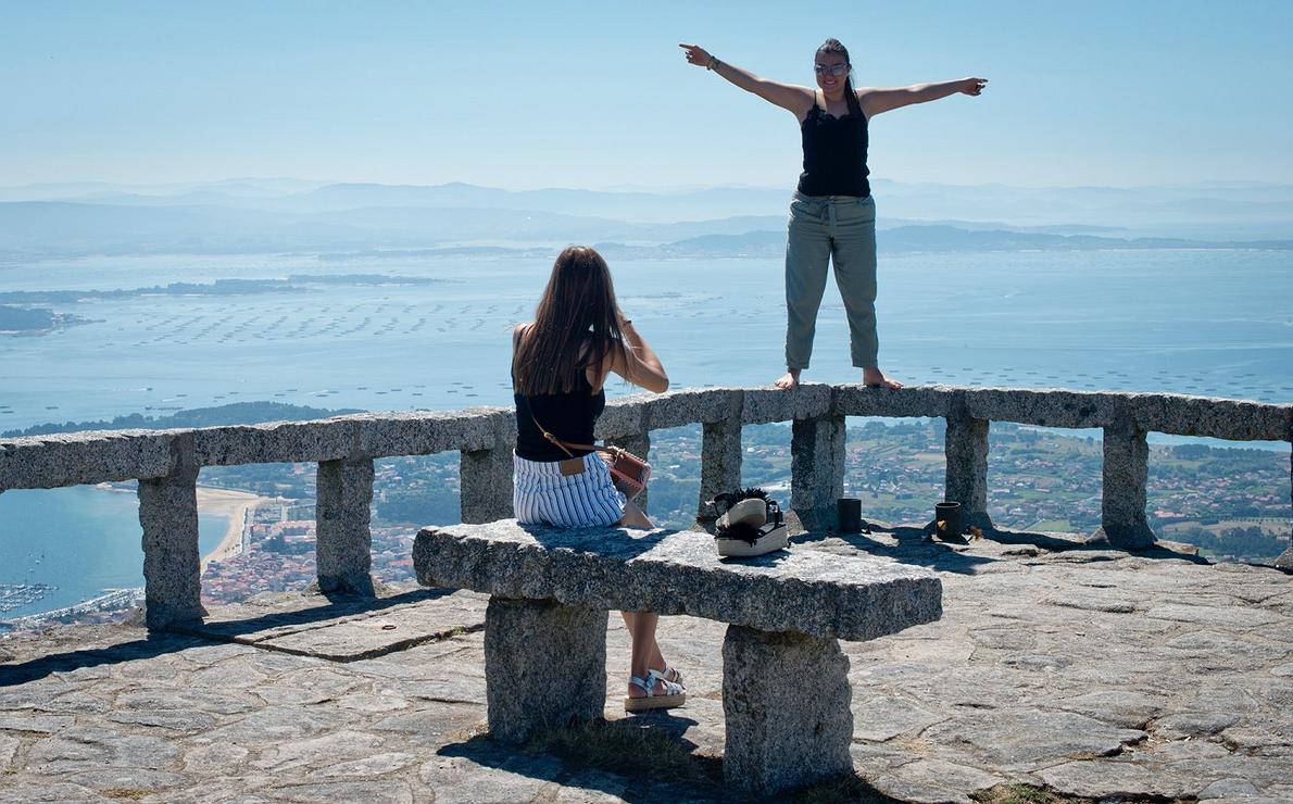 Mirador de A Curota (A Coruña)