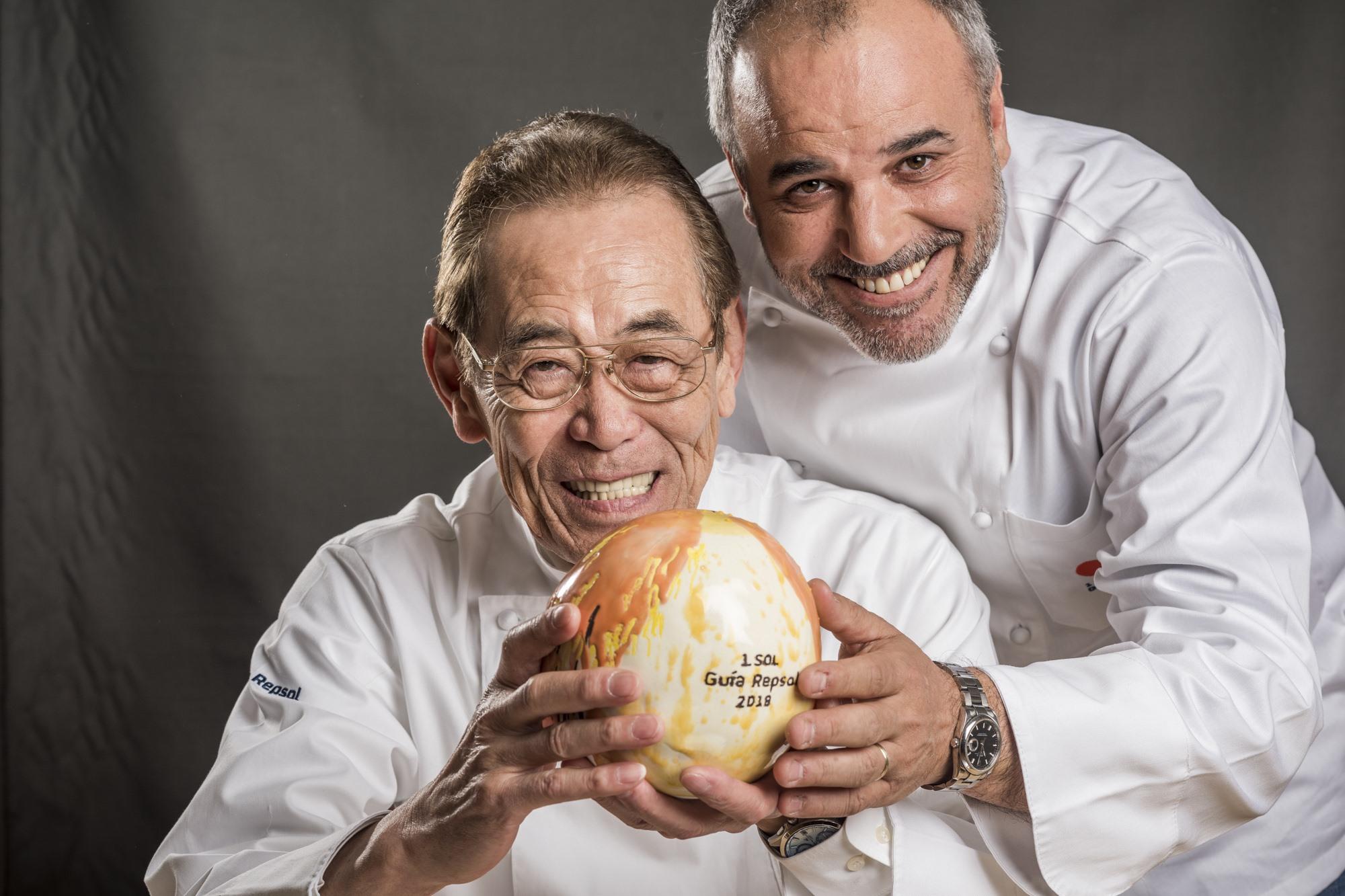 Toshio Tsutsui y Álvaro Arbeloa