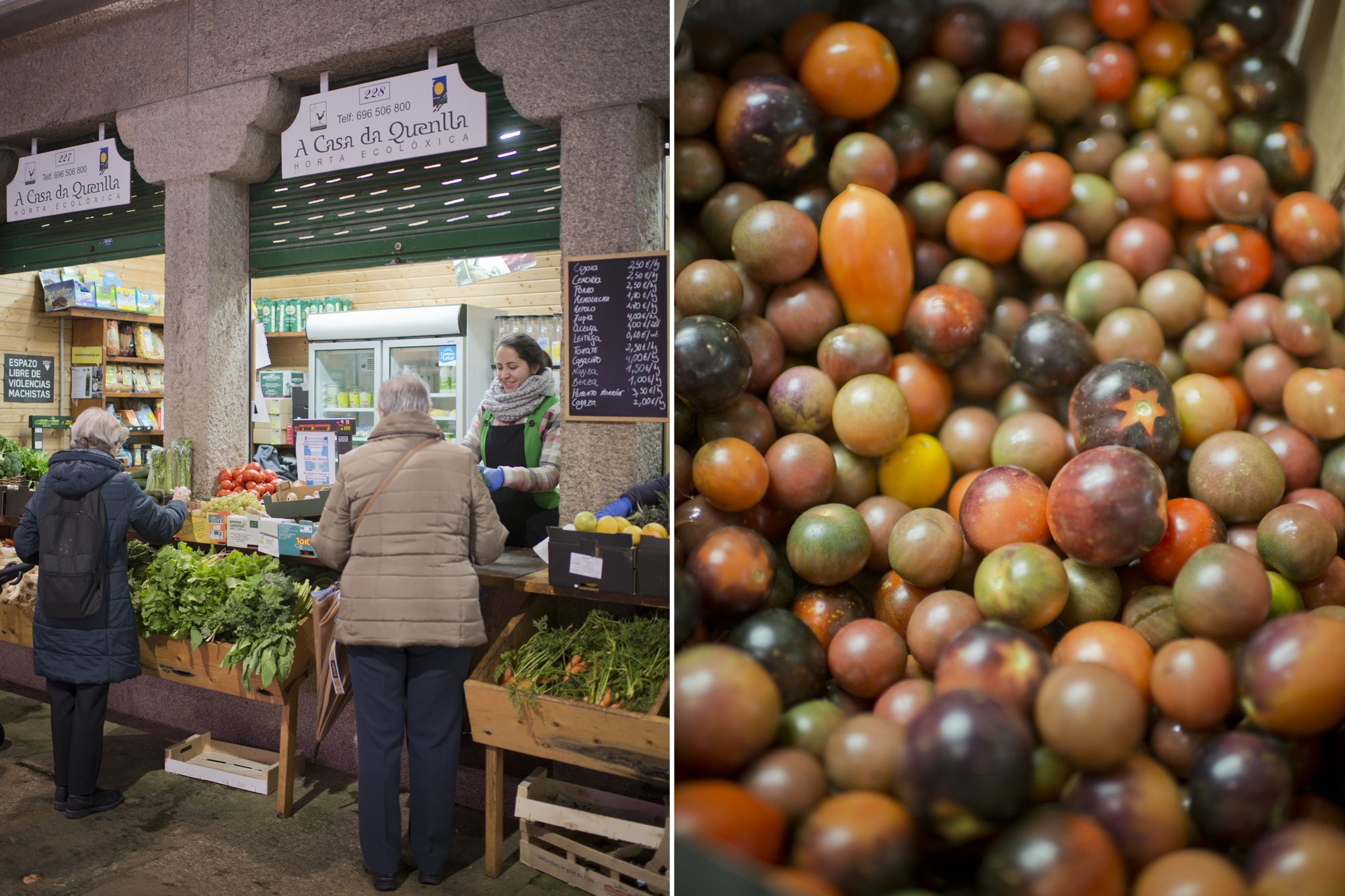 Viva la imperfección de los tomates que sí saben a tomate.