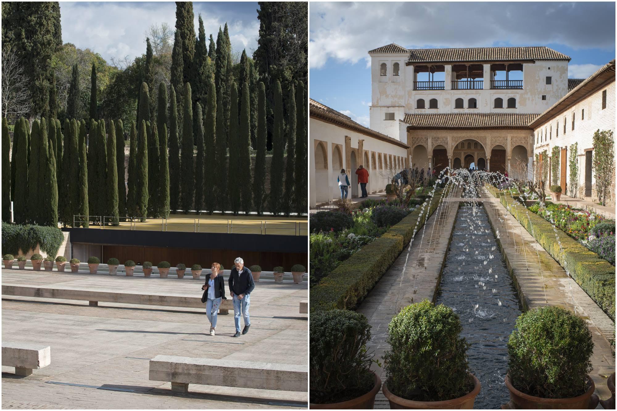 escenario jardines nuevos palacio patio de la acequia