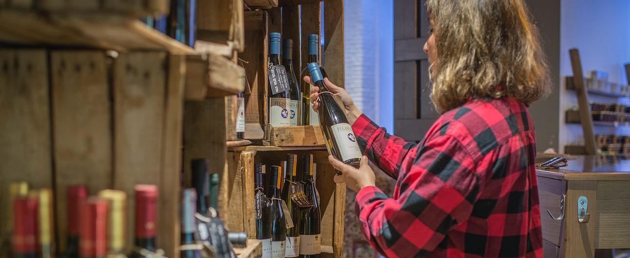 Tienda de vinos 'The One wine' (Madrid)