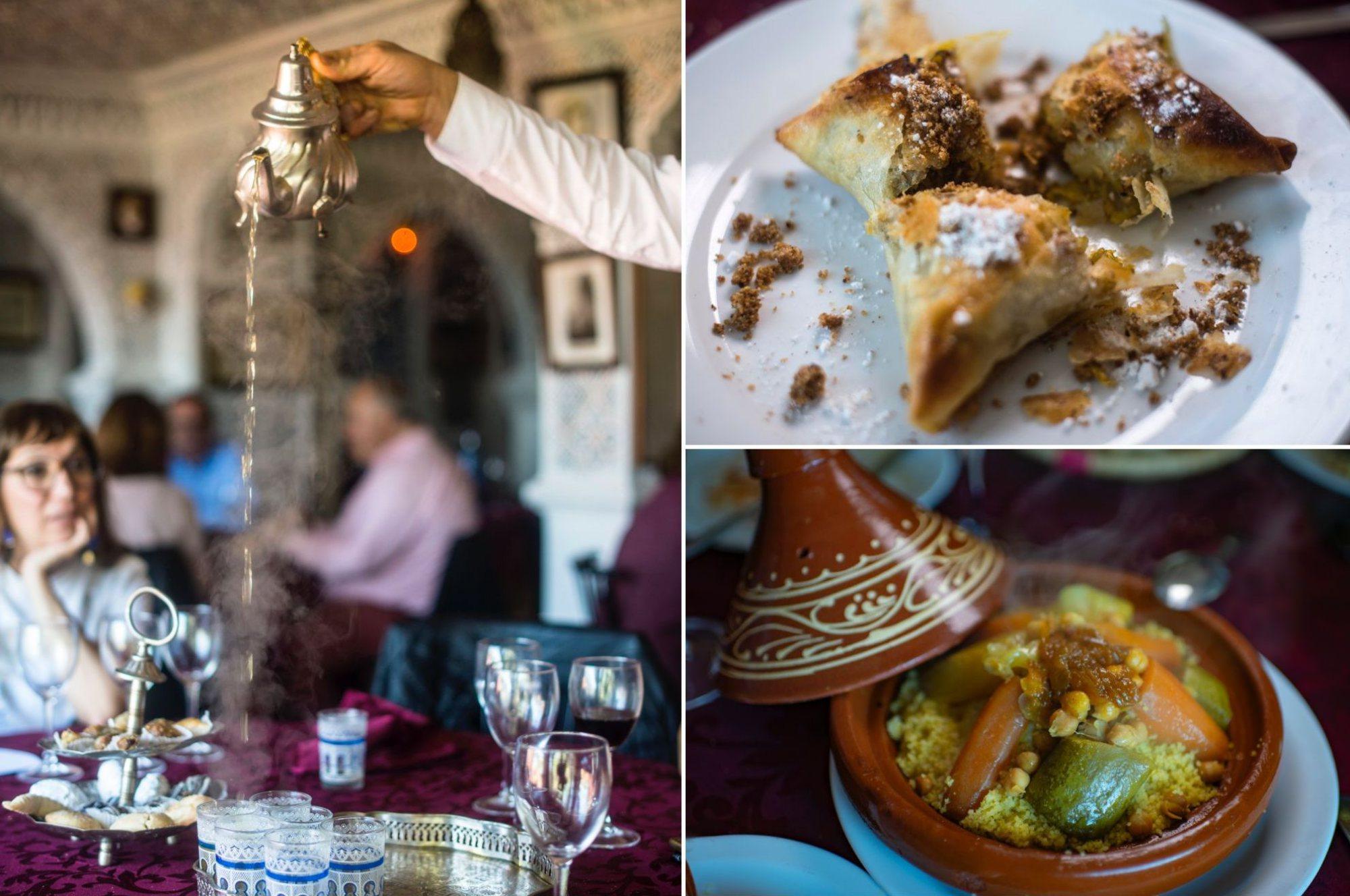 Ceuta musulmana: restaurante Oasis