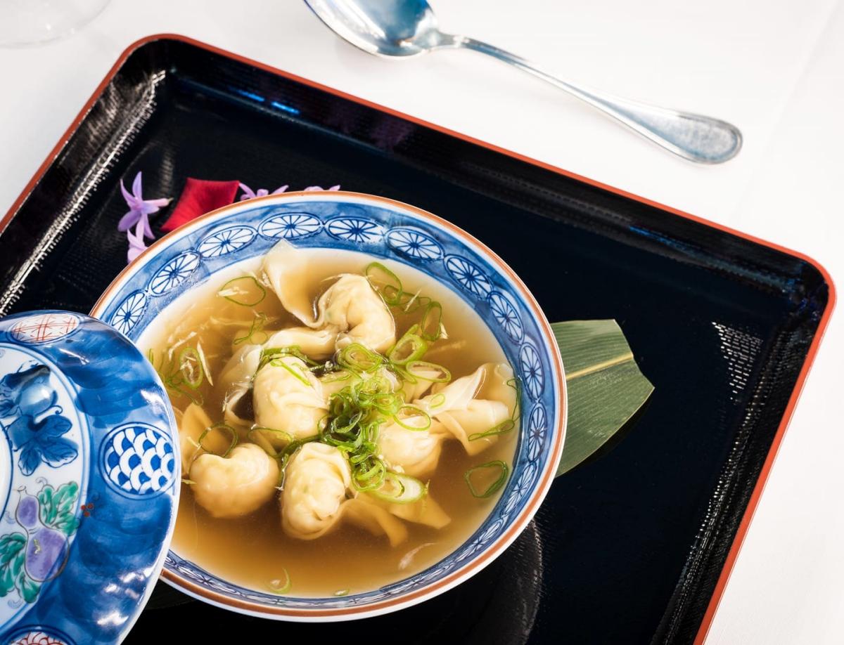 La Sopa Wonton del 'Restaurante Félix'.