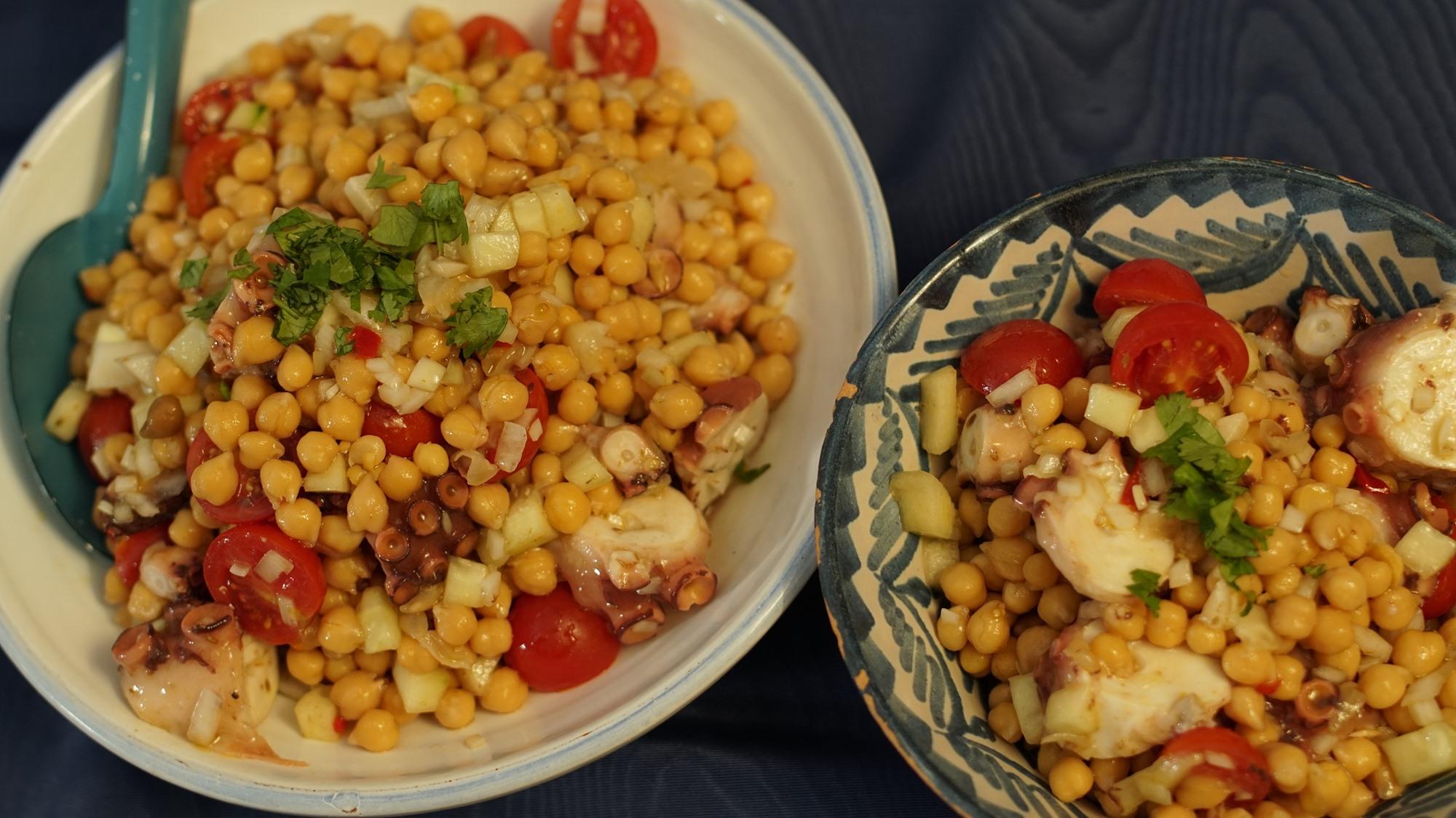 Platos de verano con legumbres