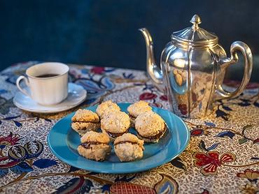Recetas dulces para meriendas con café