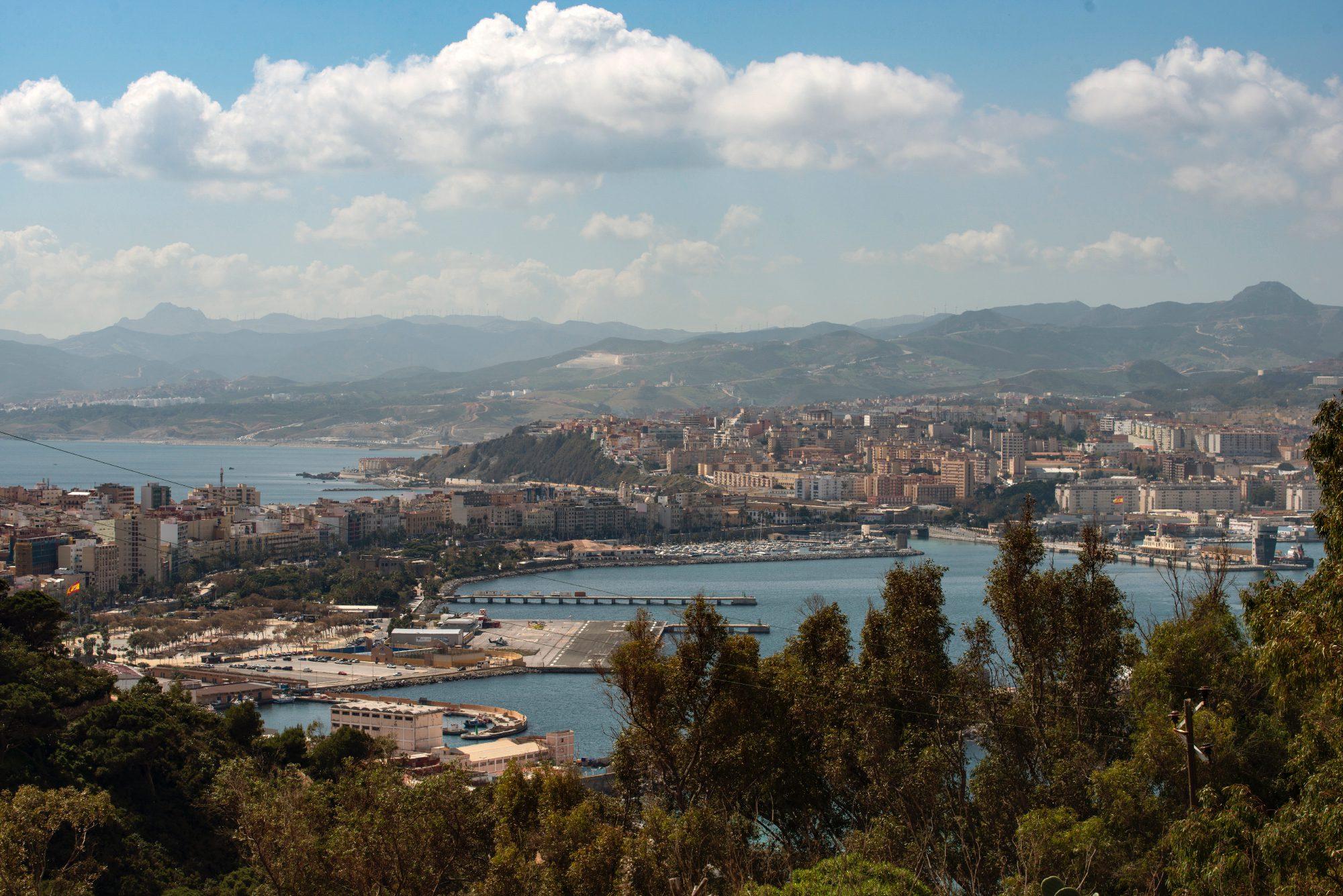 Mirador de Ceuta: San Antonio en el Monte Hacho