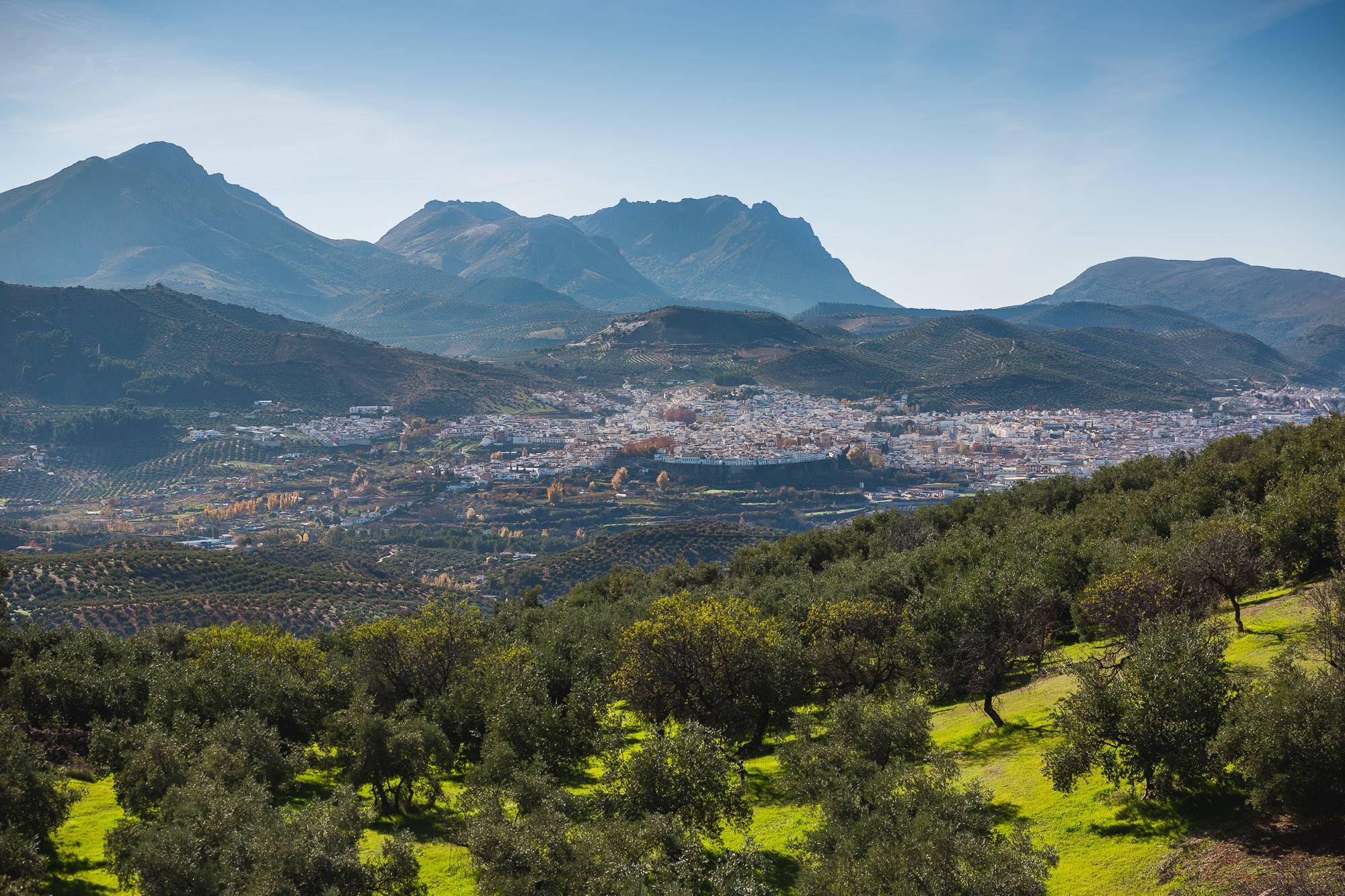 La Tiñosa, en la sierra de la Horconera, también llamada popularmente 'el techo de Córdoba'.