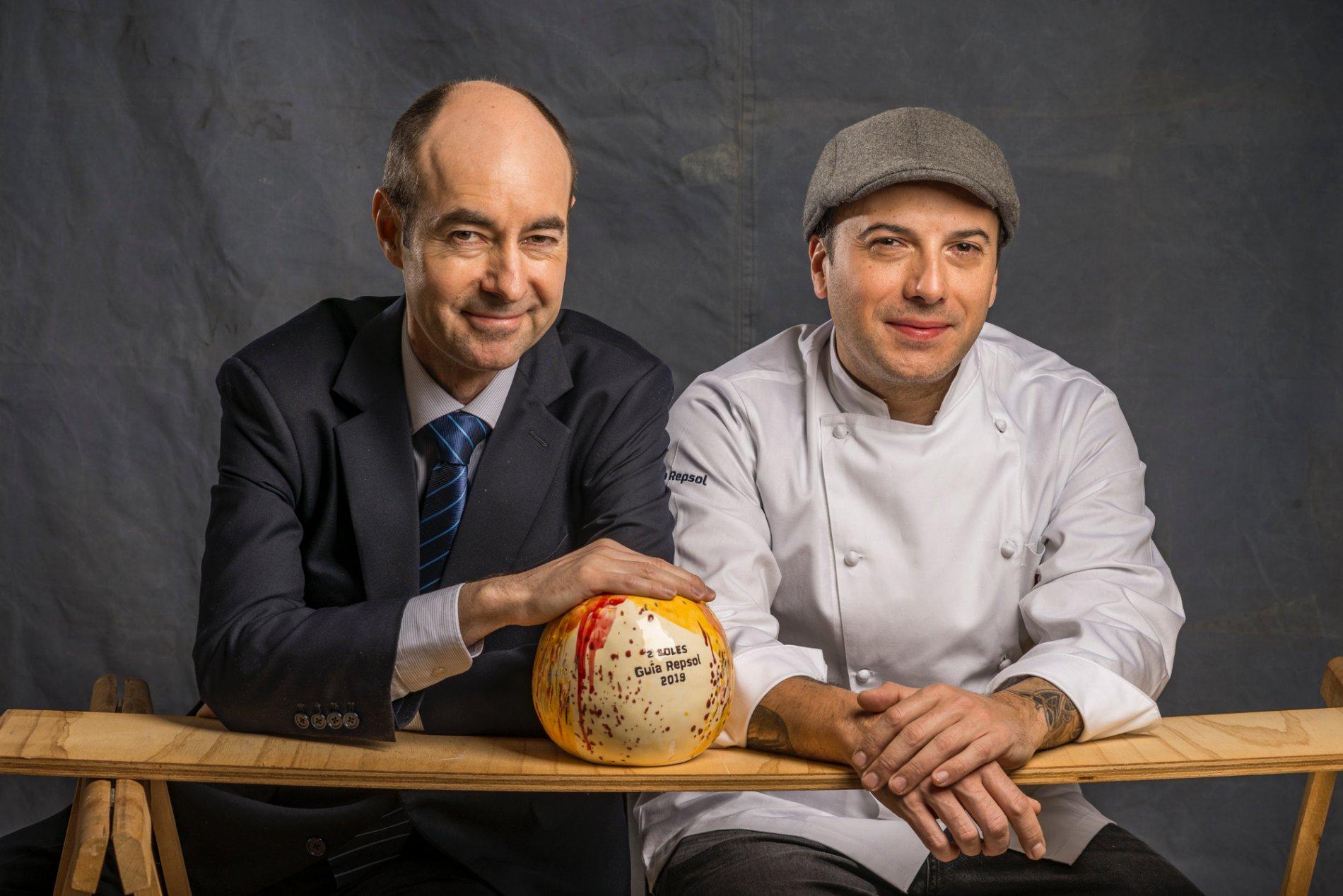 Restaurante con 2 Soles. David García y Juan Manuel del Rey (Corral de la Morería)