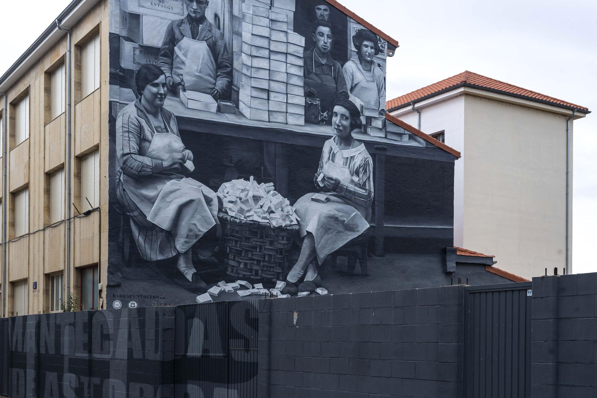 Las mantecadas de Astorga, un clásico en las calles.