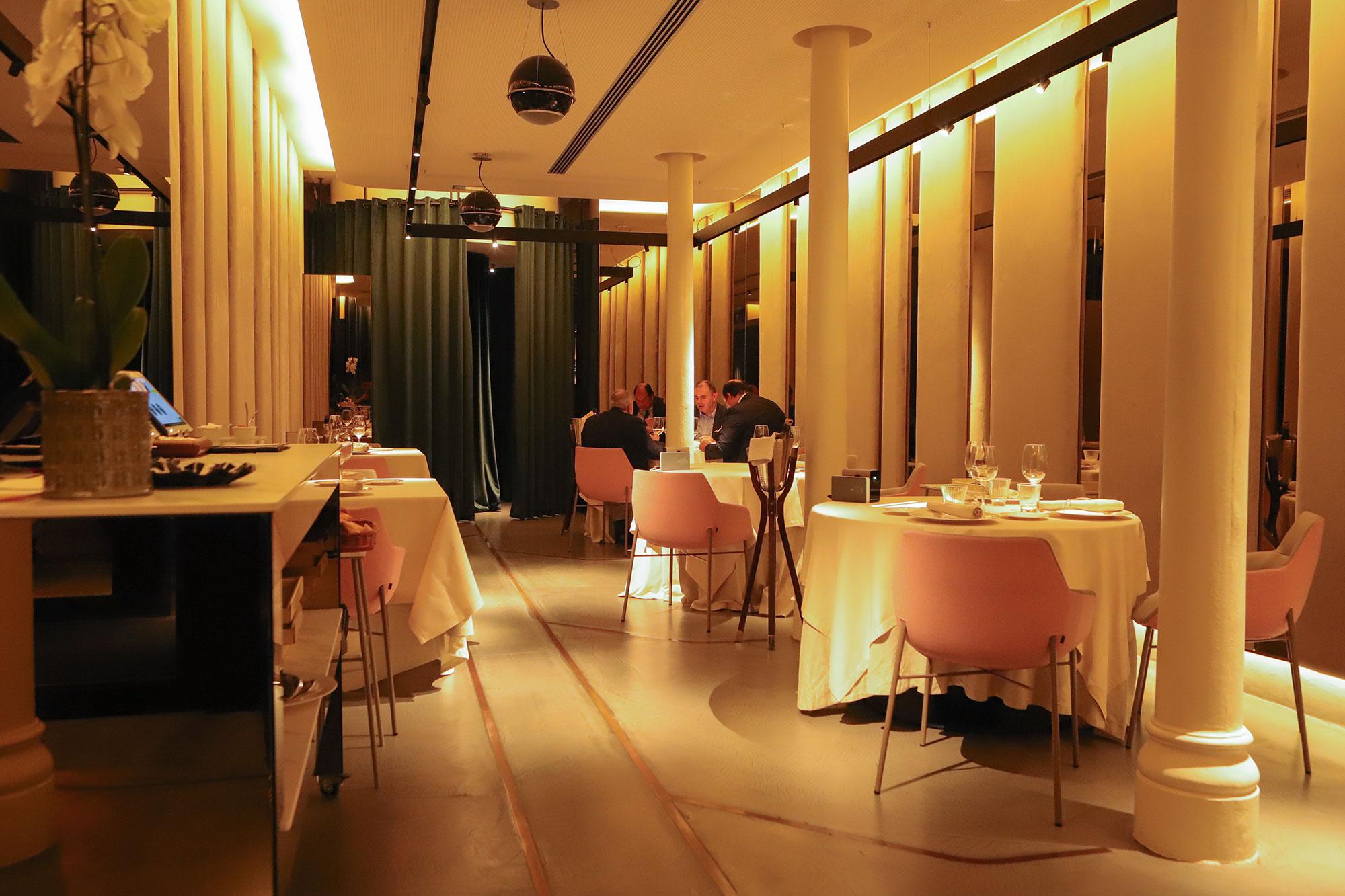 La sala del 'Atelier' tiene capacidad para unas 15 personas.