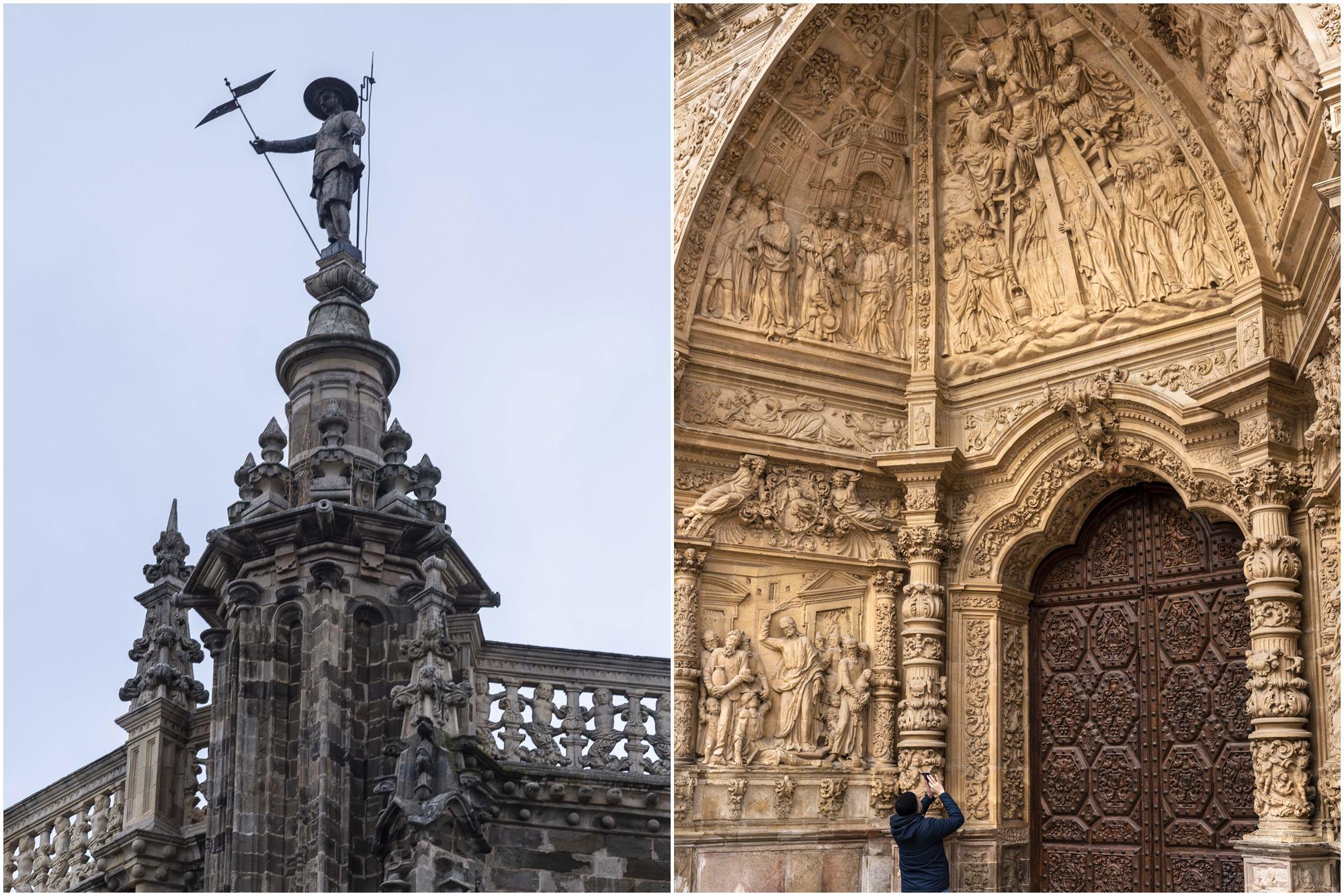 De todas las leyendas de Pedro y la catedral, la mejor, la de espía contra los franceses.