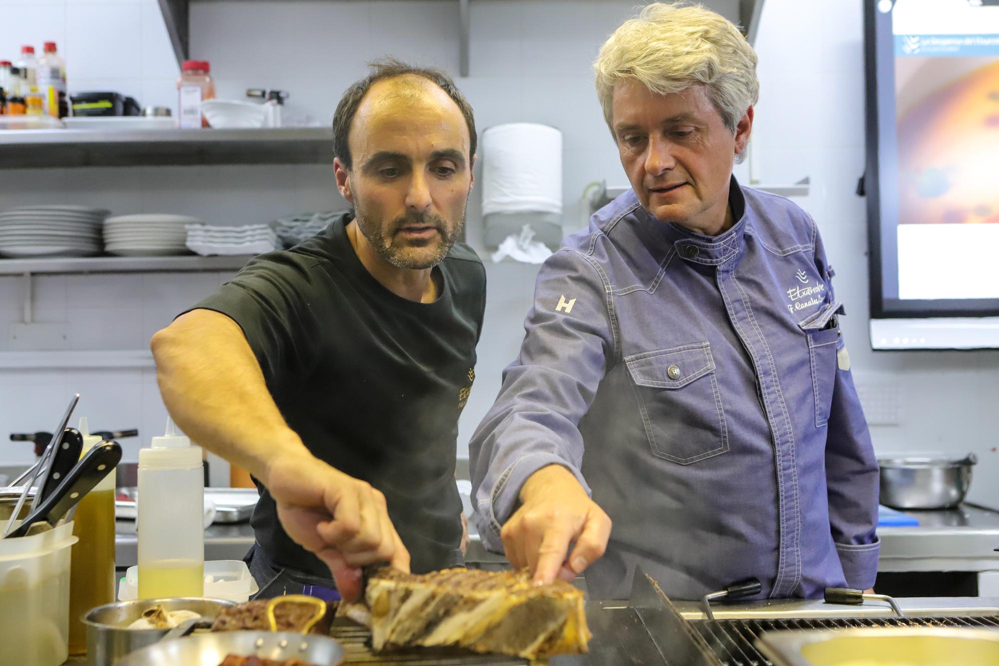 Fernando Canales y Kike Población llevan trabajando juntos 28 años.