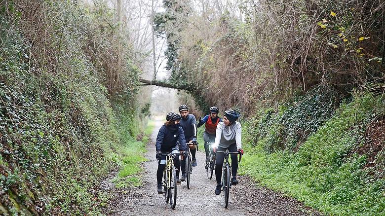 Ruta en bici por la Vía Verde de Ojos Negros (Castellón)