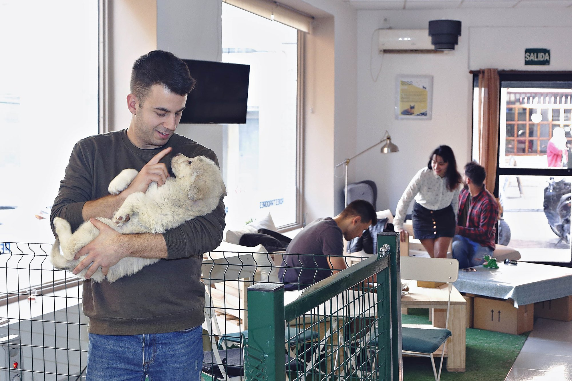 Cafetería 'The Doger Café' (Madrid)