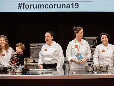 Mujeres en el Fórum Gastronómico de A Coruña