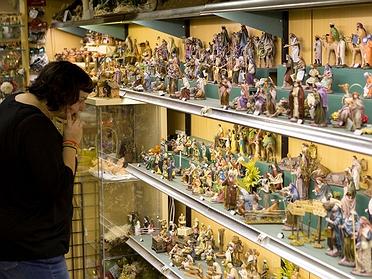 Pessebres Puig, la tienda de belenes en Barcelona