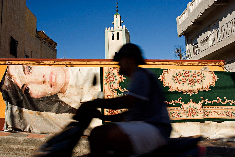 Ceuta: el minarete del barrio El Príncipe