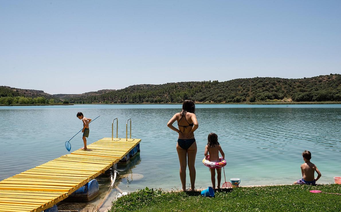 Aguas dulces - Baño en las Lagunas de Ruidera